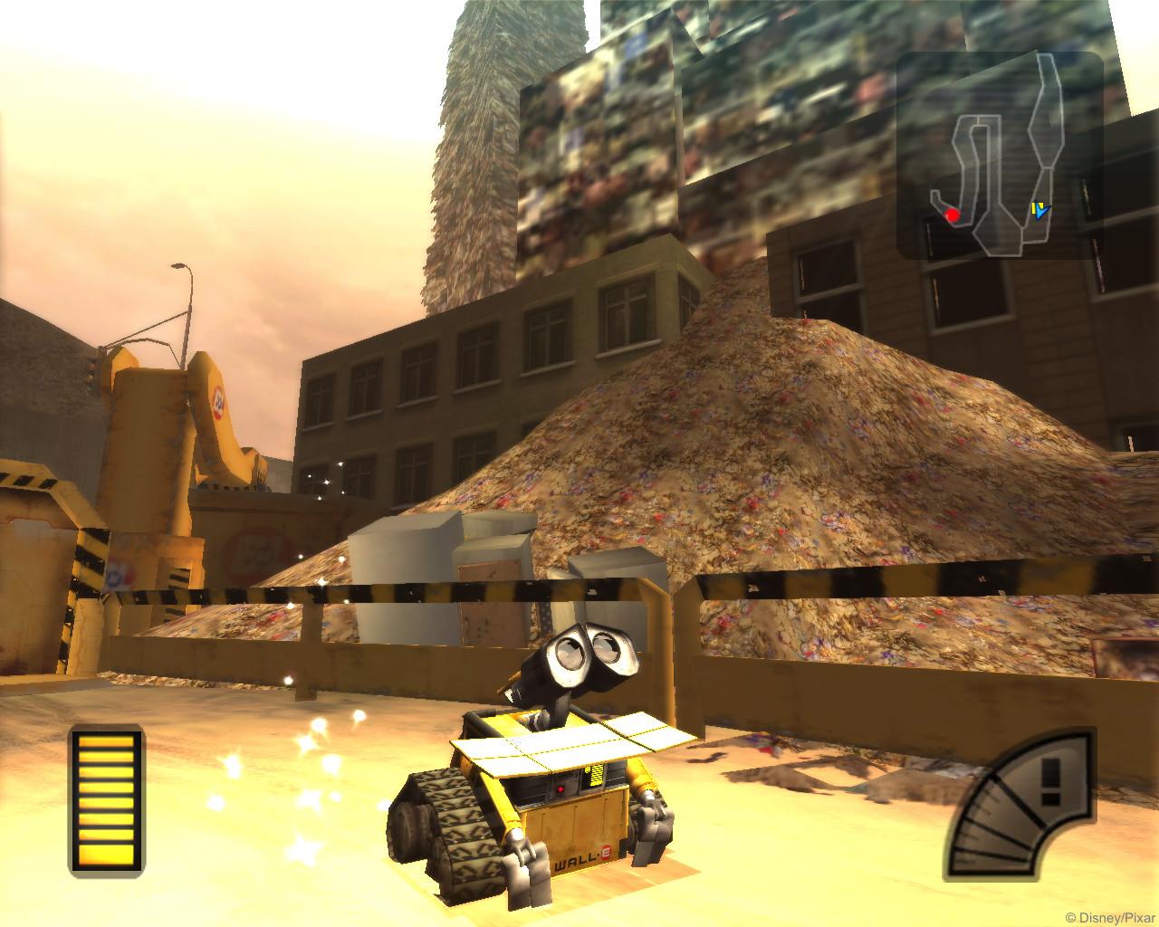 Wall-E PC Game