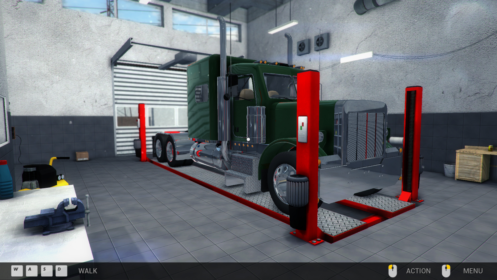 Truck Mechanic Simulator 2015 screenshot