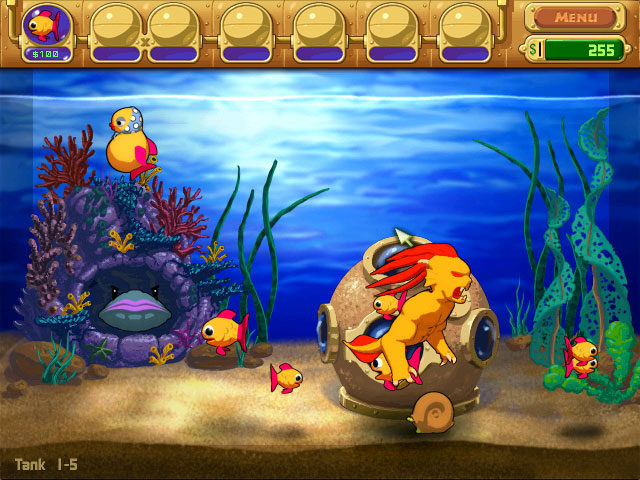 Insaniquarium Deluxe screenshot