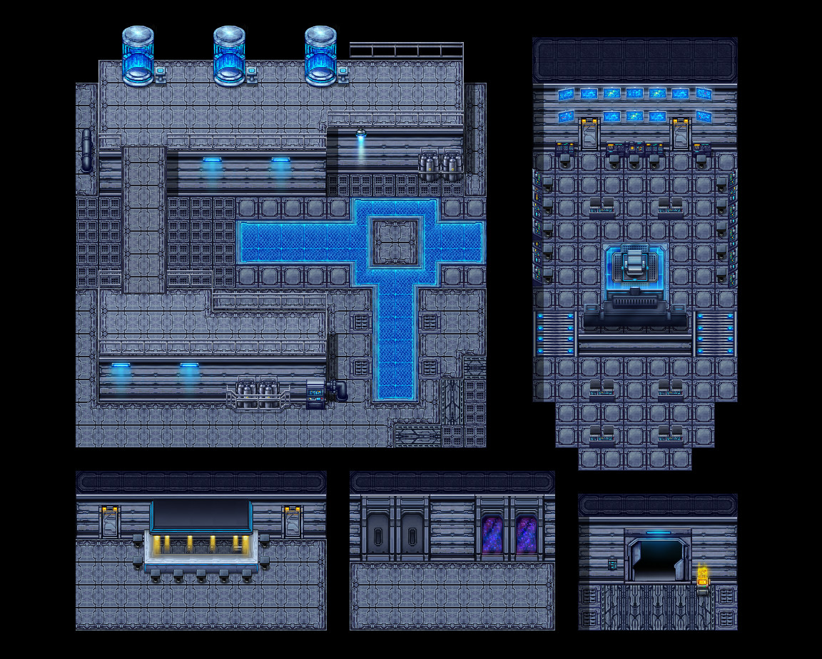 RPG Maker VX Ace - Sci-Fi Tiles screenshot