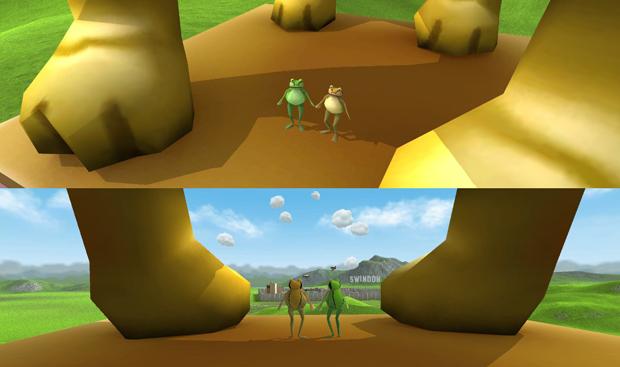 amazing frog game