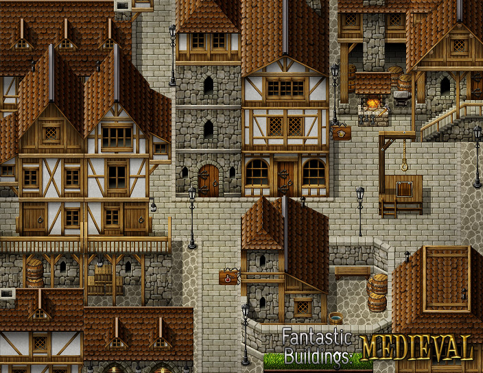 RPG Maker VX Ace - Fantastic Buildings: Medieval screenshot