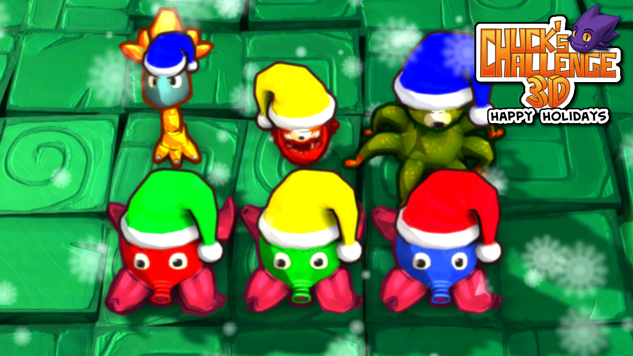 Chucks Challenge 3D: Happy Holidays DLC screenshot