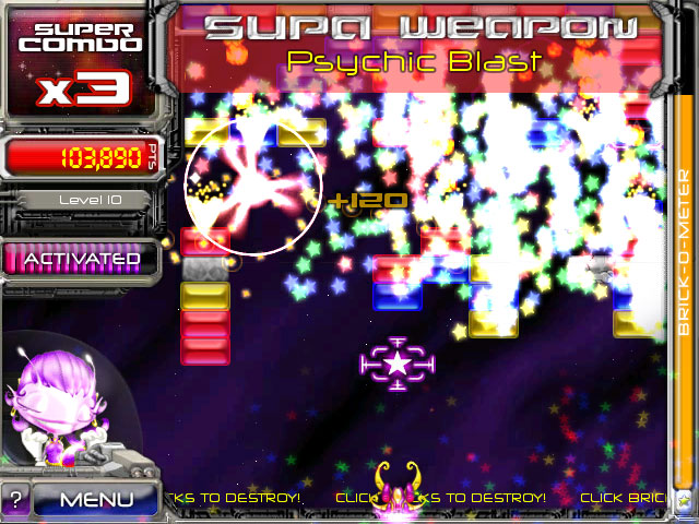 AstroPop Deluxe screenshot
