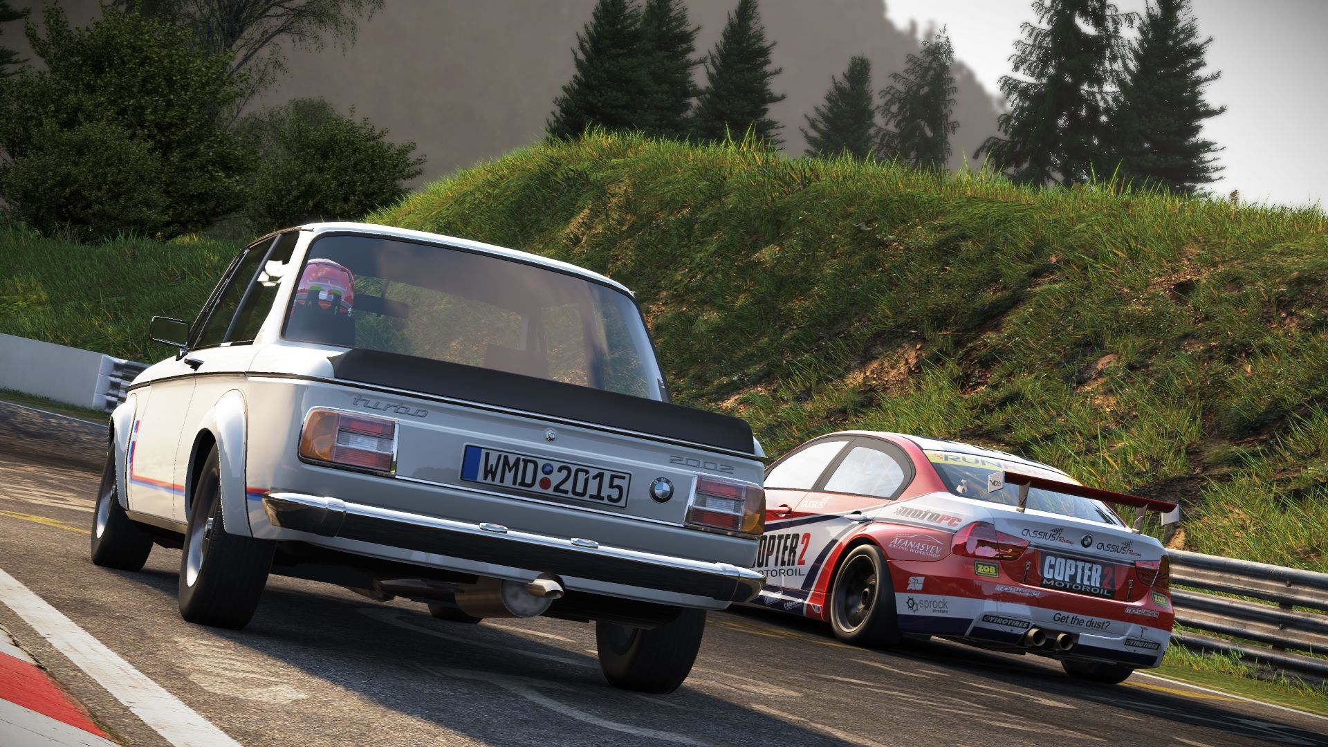 Project CARS - Old Vs New Car Pack ve službě Steam