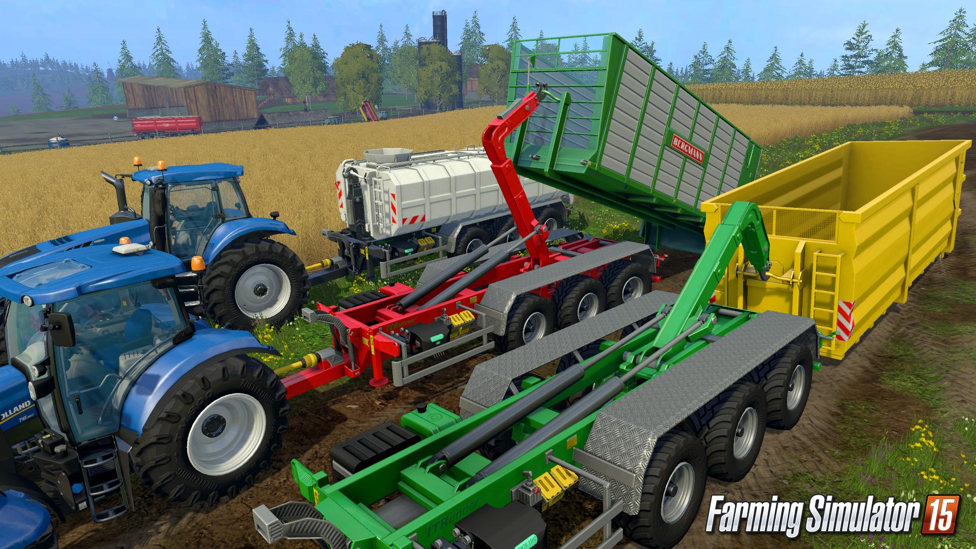 Скачать игру фермер симулятор 15