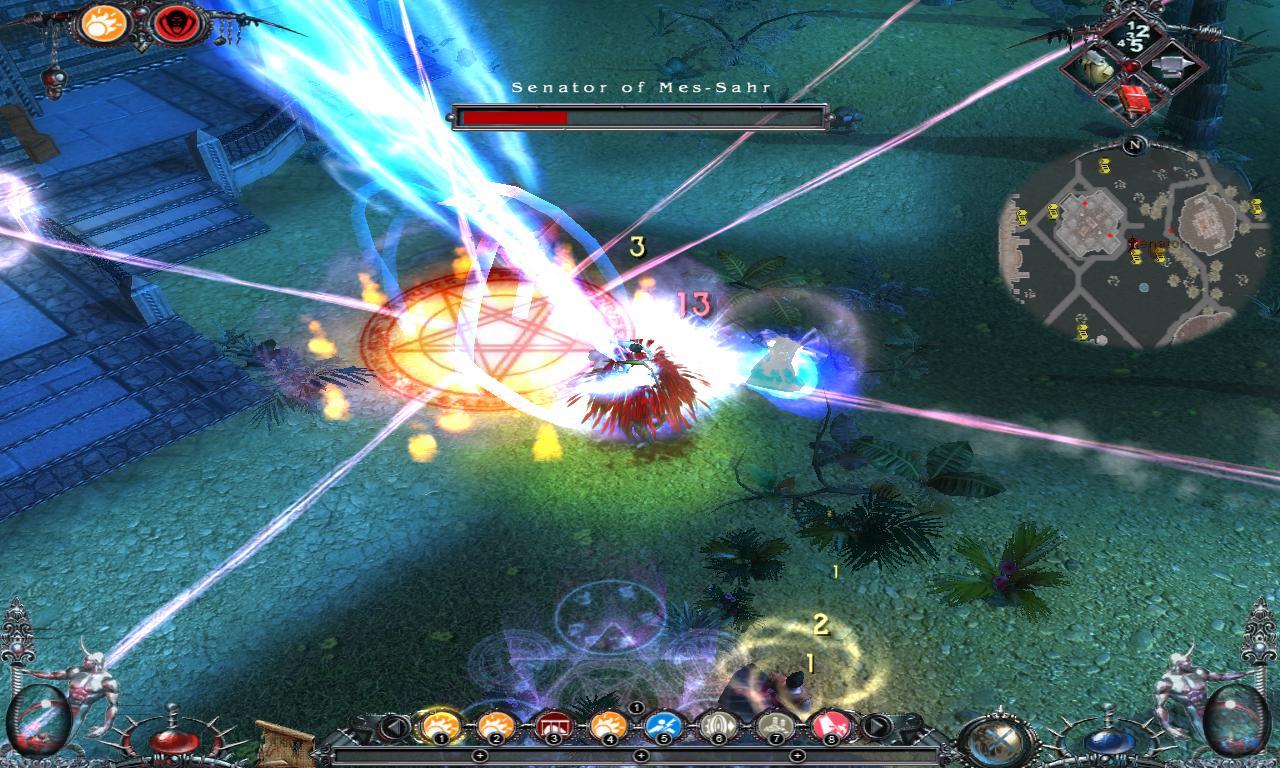 Dawn of Magic 2 screenshot