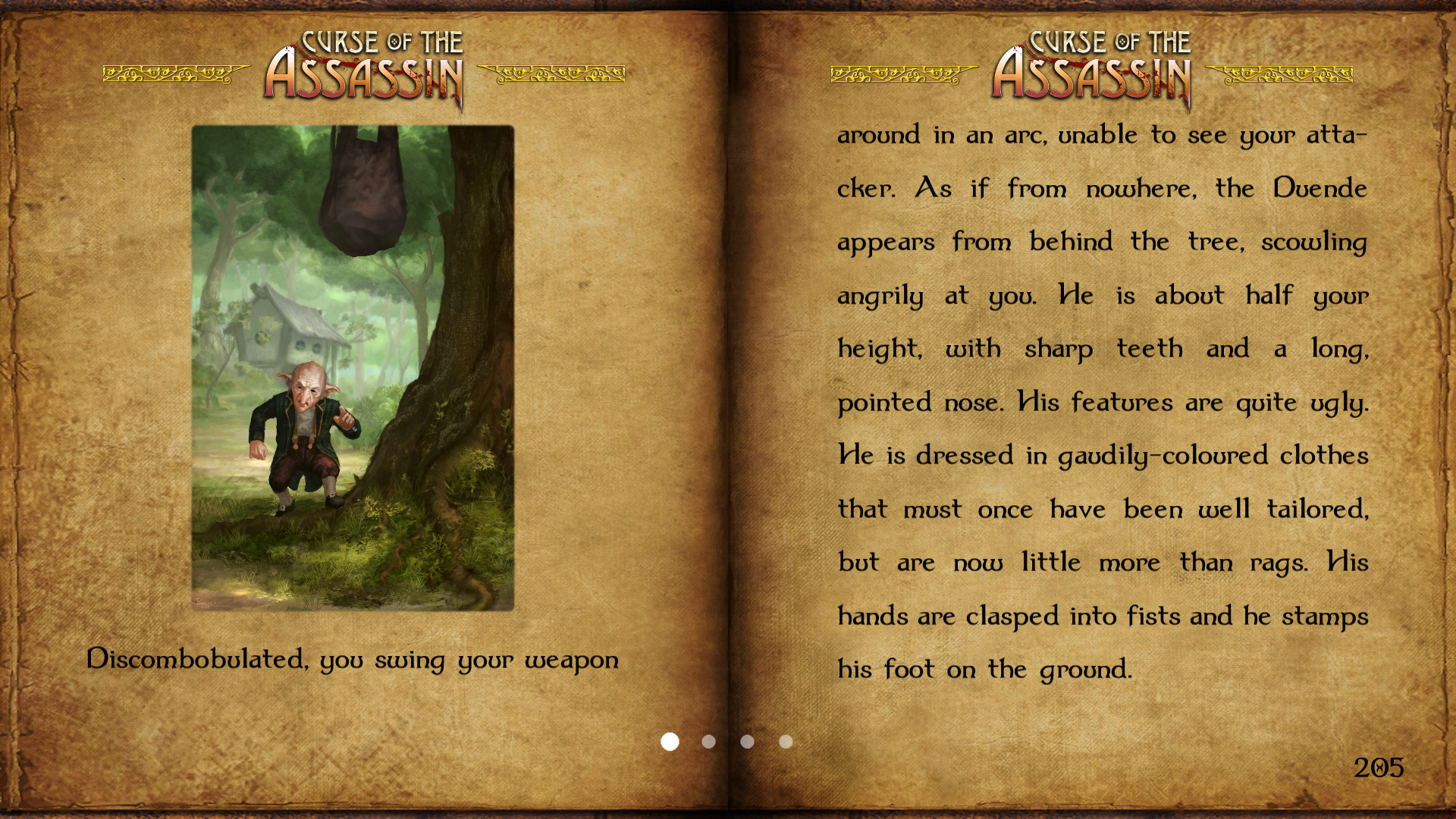 Curse of the Assassin screenshot