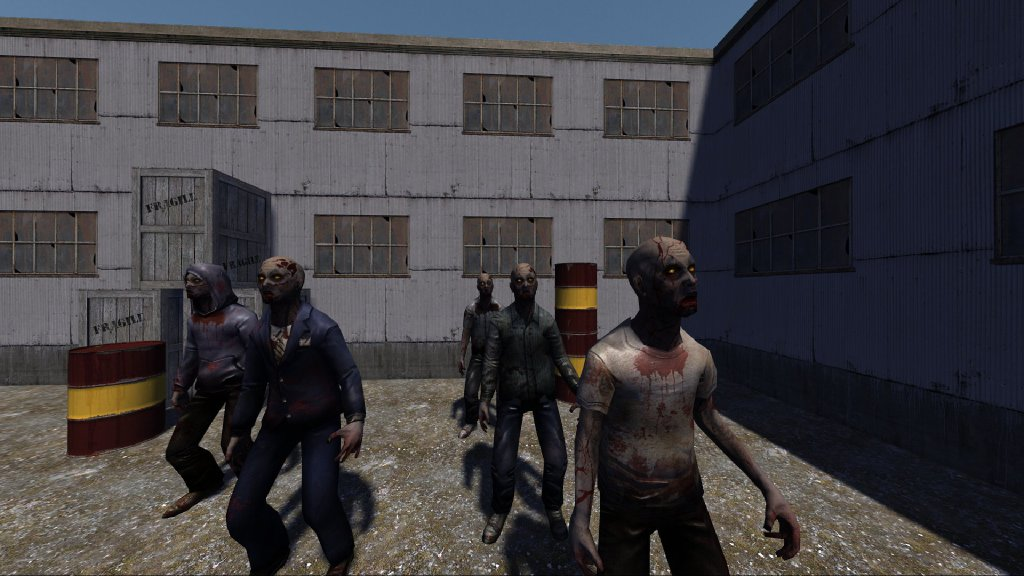 Leadwerks Game Engine - Zombie Action Figures screenshot