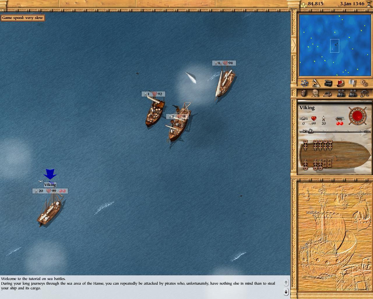 Patrician III screenshot