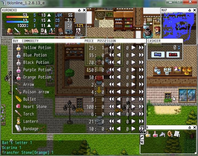Tkl Online screenshot