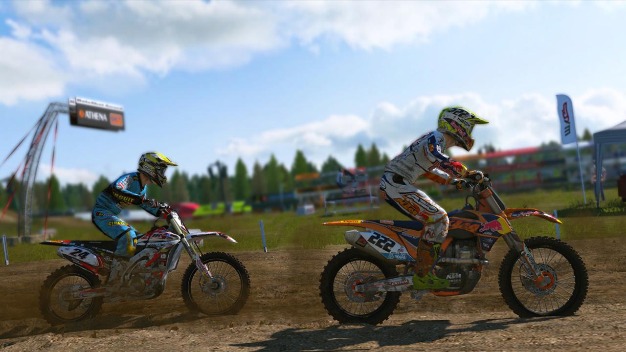 MXGP - The Official Motocross Videogame Compact screenshot