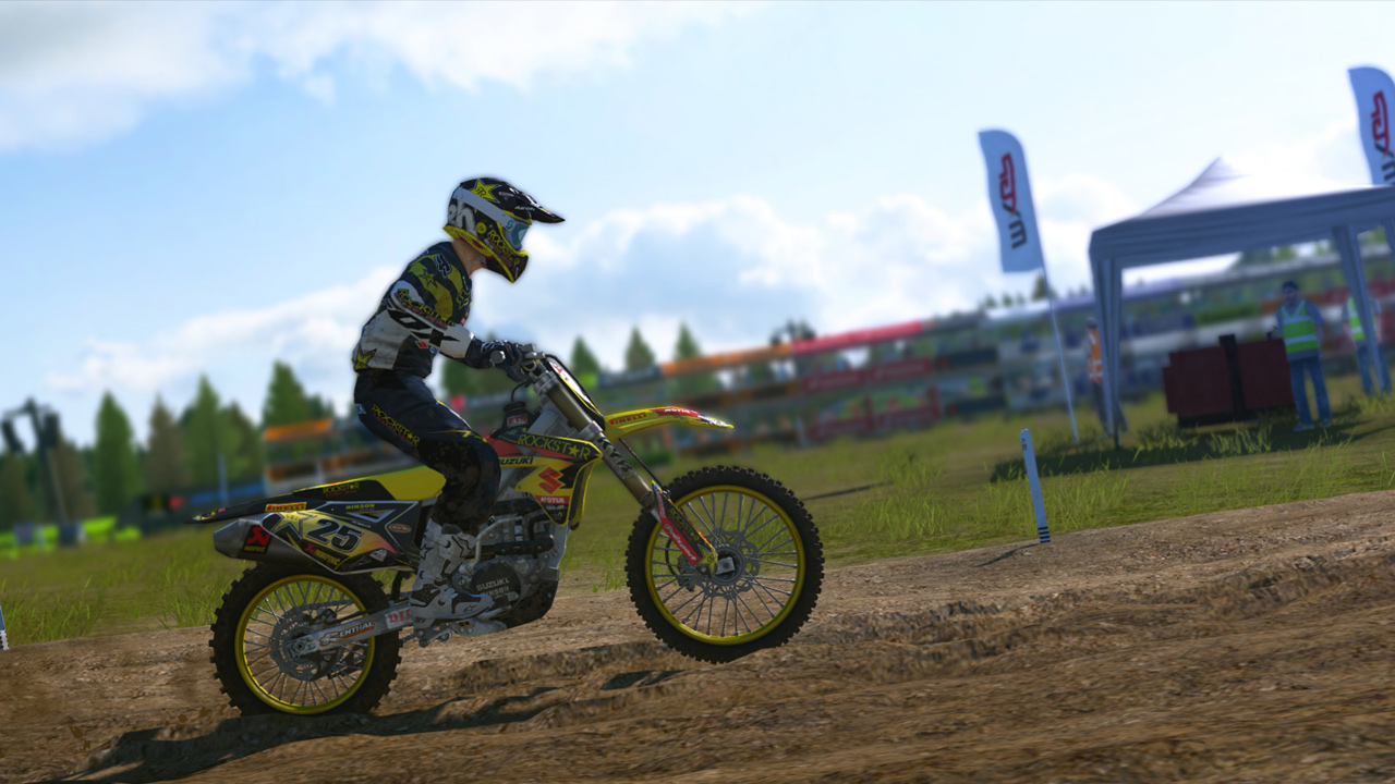 MXGP - The Official Motocross Videogame Compact screenshot