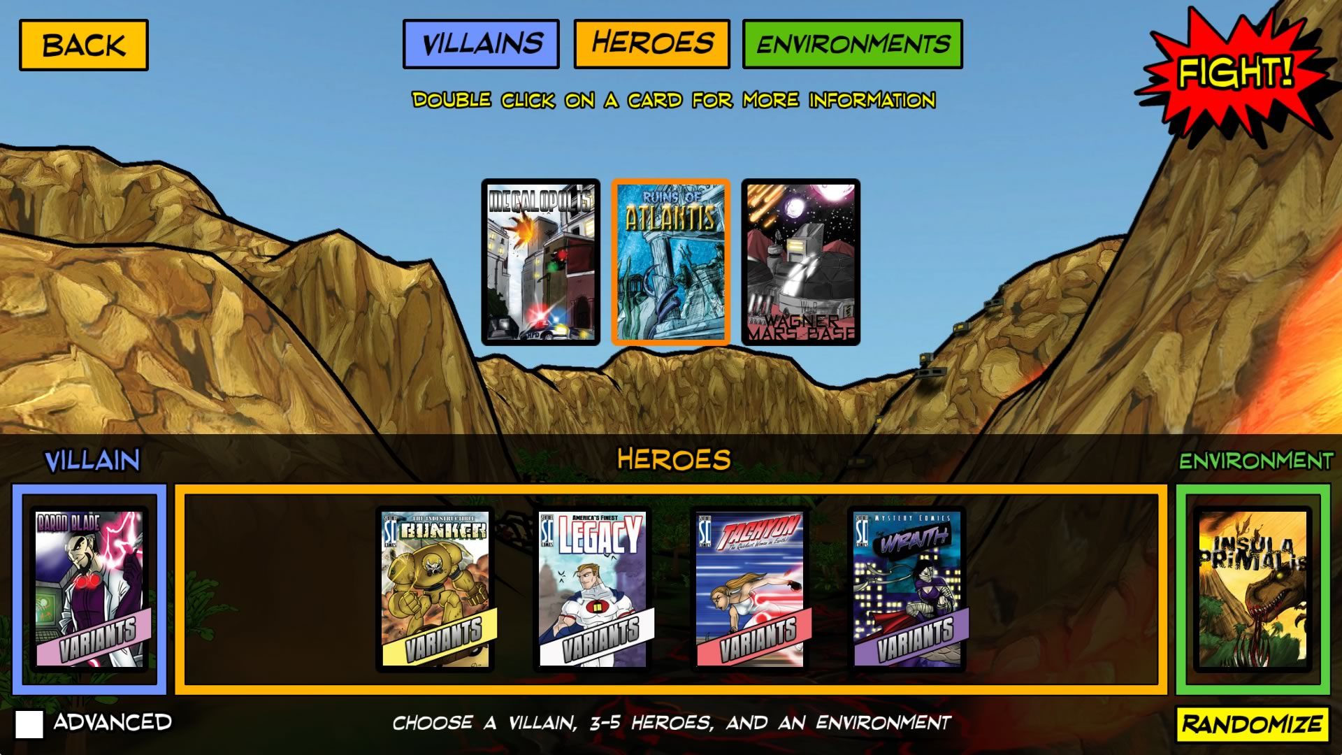Sentinels of the Multiverse screenshot