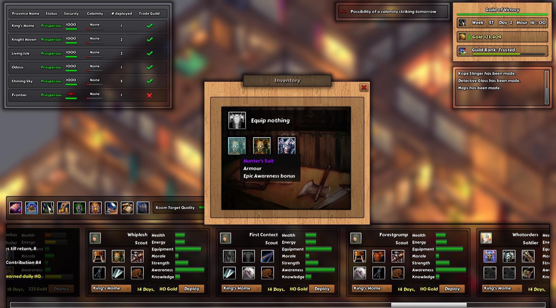 Guild Commander screenshot