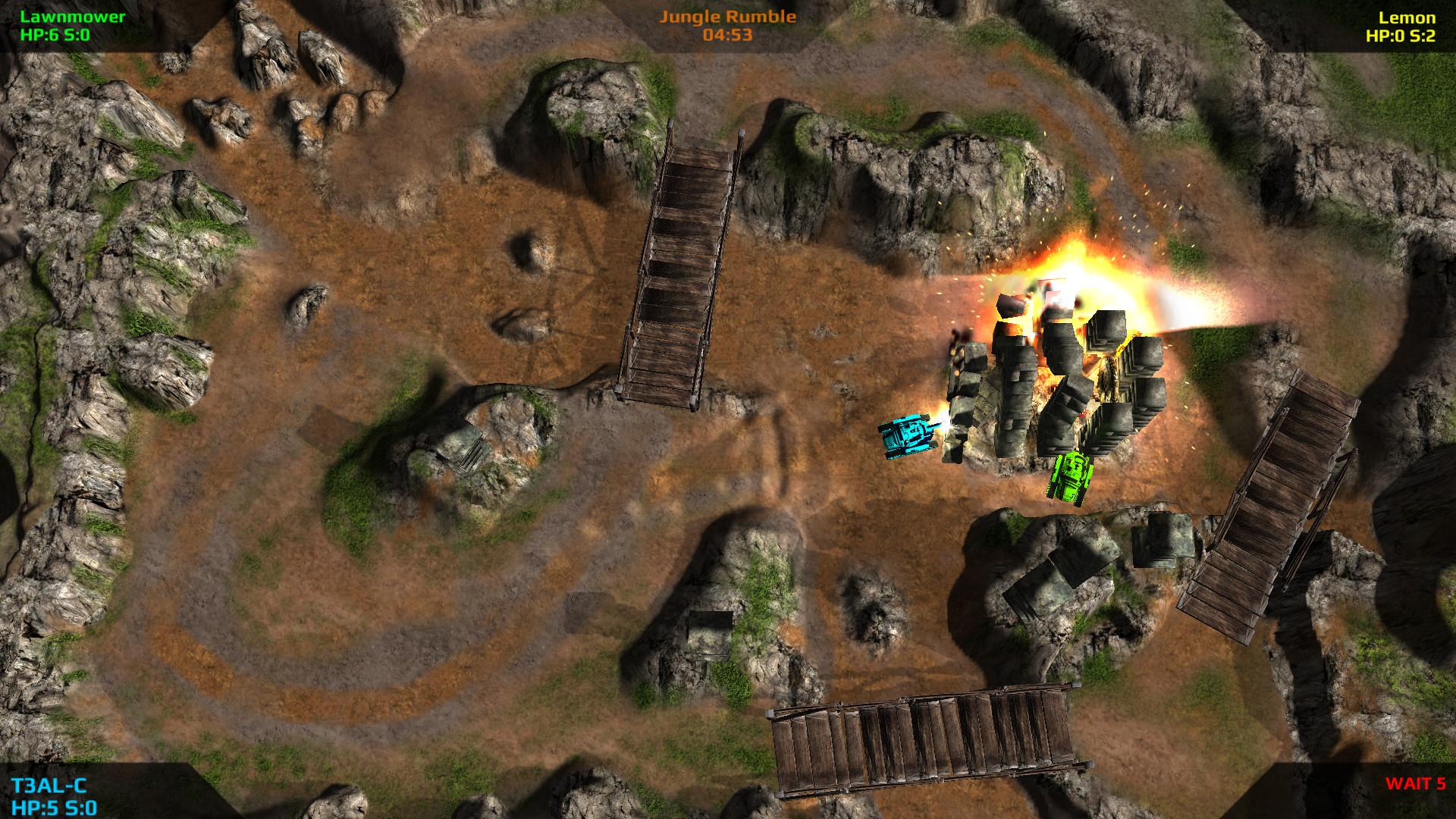 Battletank LOBA screenshot
