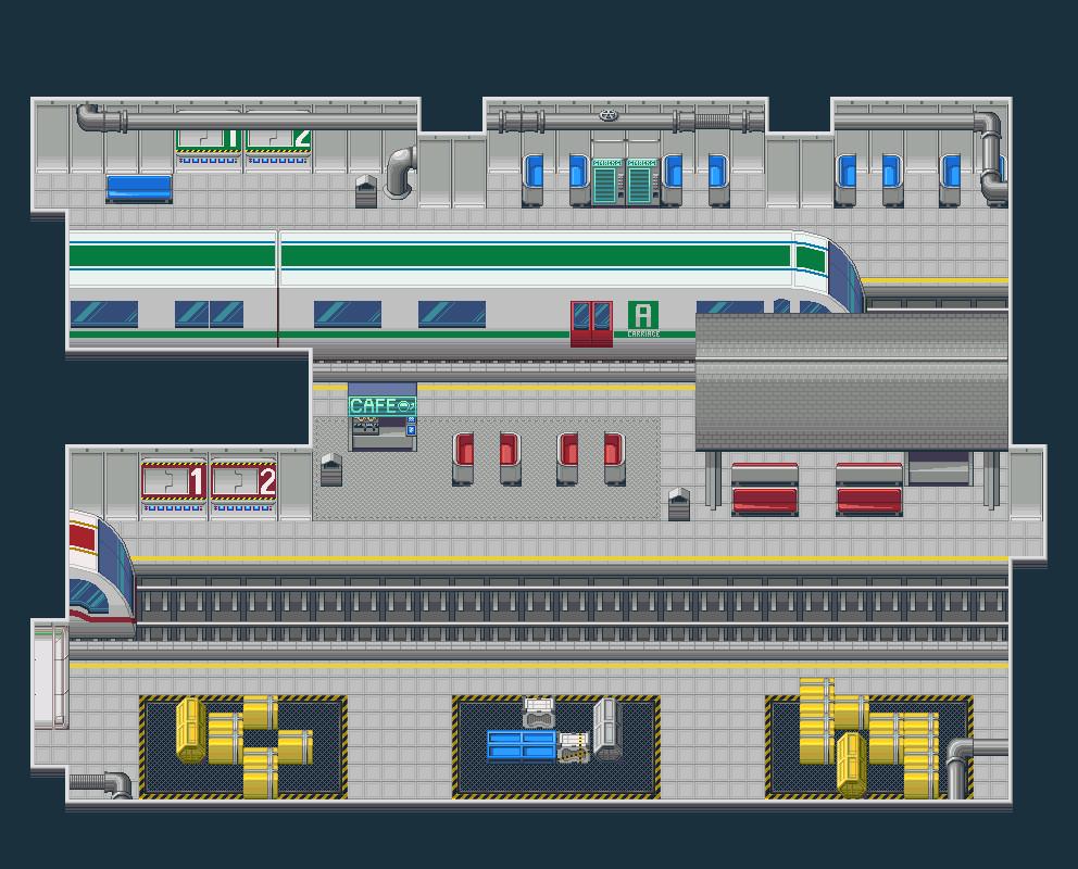 RPG Maker VX Ace - DS+ Expansion - Retro SciFi screenshot