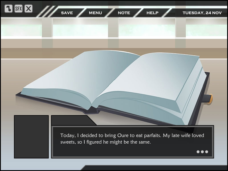 X-note screenshot