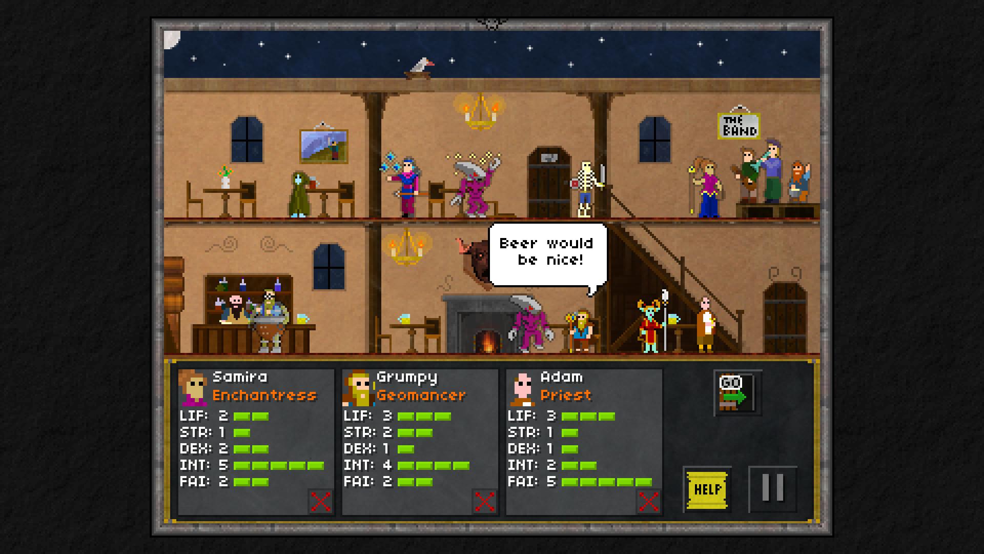 Pixel Heroes: Byte & Magic screenshot