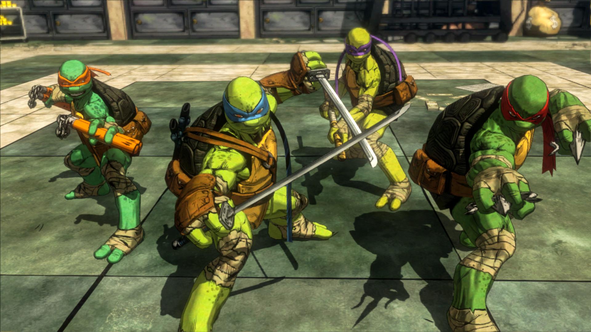 Teenage Mutant Ninja Turtles Mutants