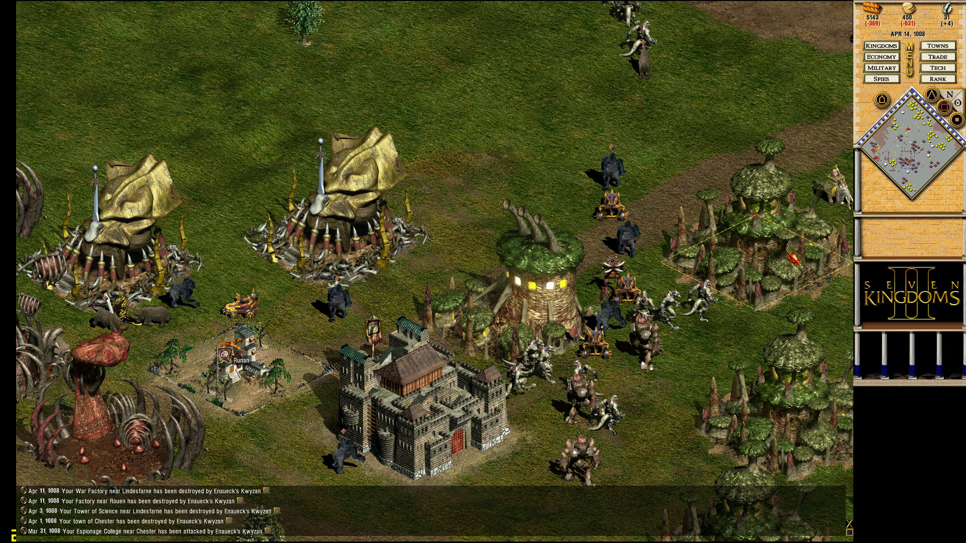 Seven Kingdoms 2 HD screenshot