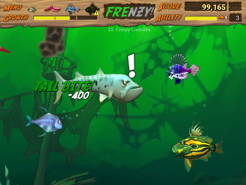 Feeding Frenzy 2 Deluxe screenshot