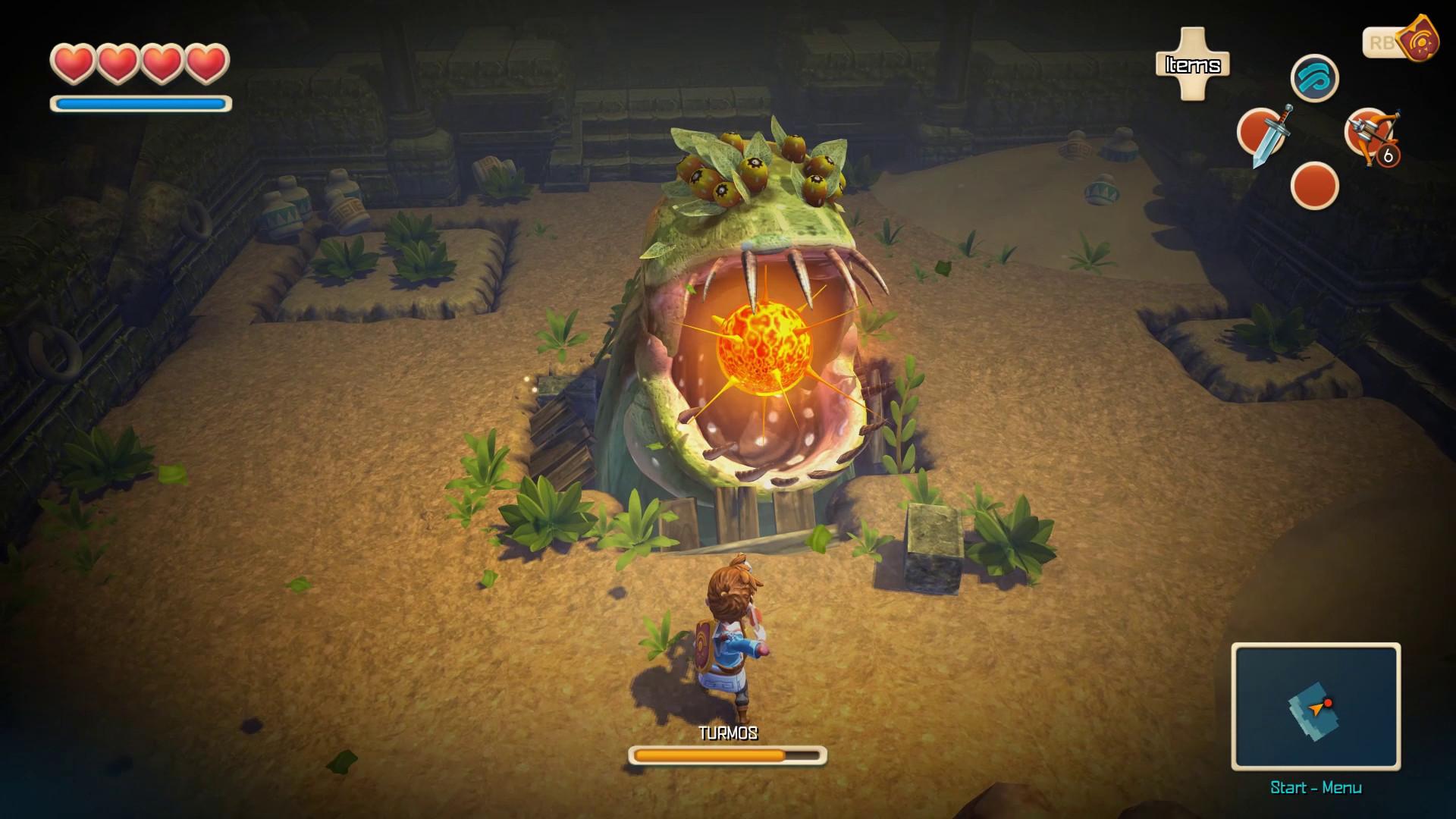 Oceanhorn: Monster of Uncharted Seas screenshot 2