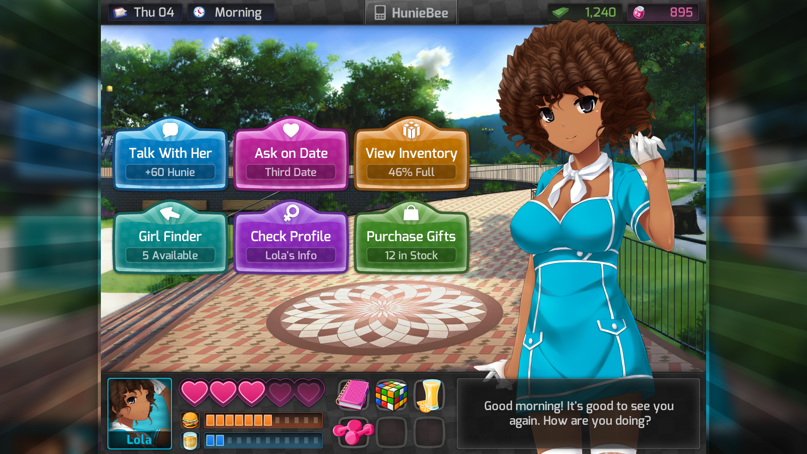 Steam train dating sim 4