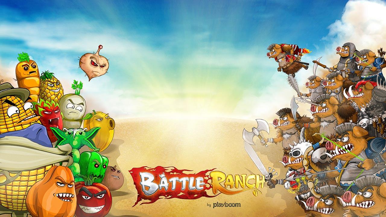 Battle Ranch: Pigs vs Plants screenshot