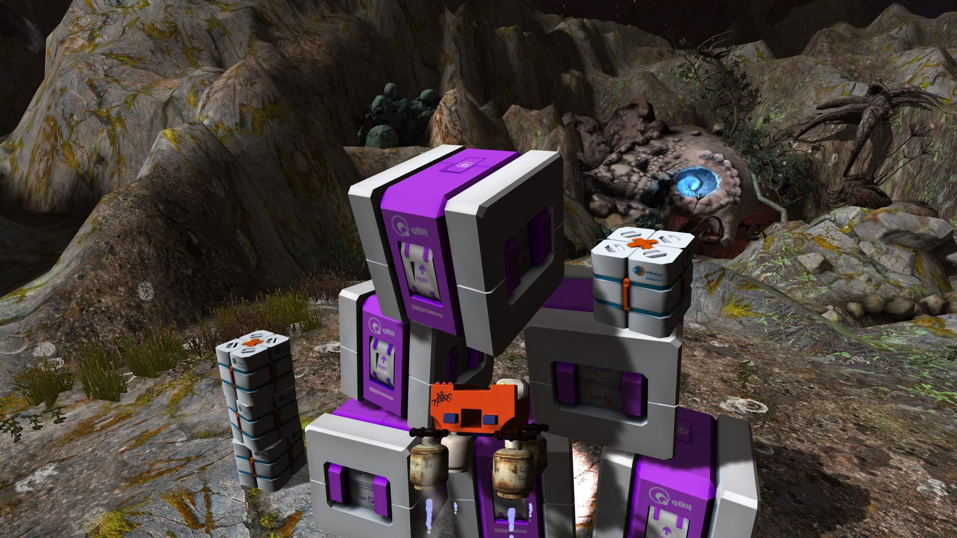 Crashed Lander screenshot