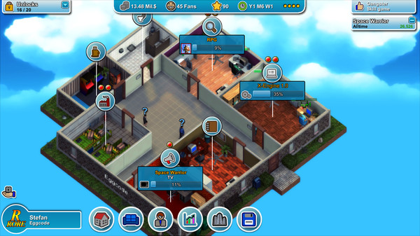 Mad Games Tycoon v0.160321A PC RePack