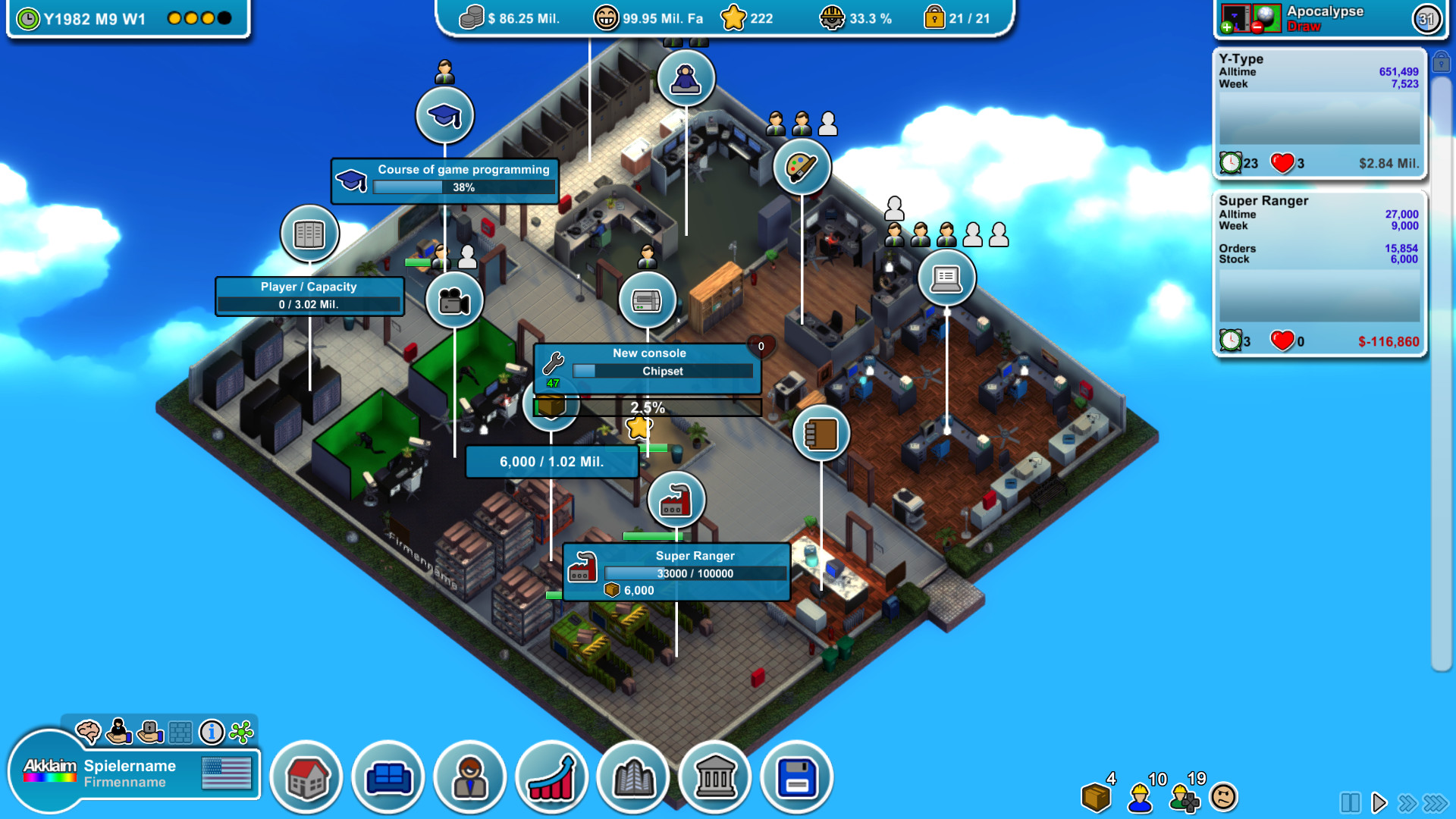 Mad Games Tycoon screenshot