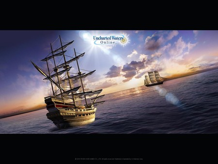 скриншот Uncharted Waters Online: Guardian of the Sea Pack 0