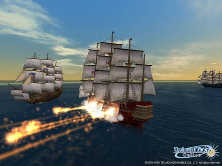 скриншот Uncharted Waters Online: Guardian of the Sea Pack 4