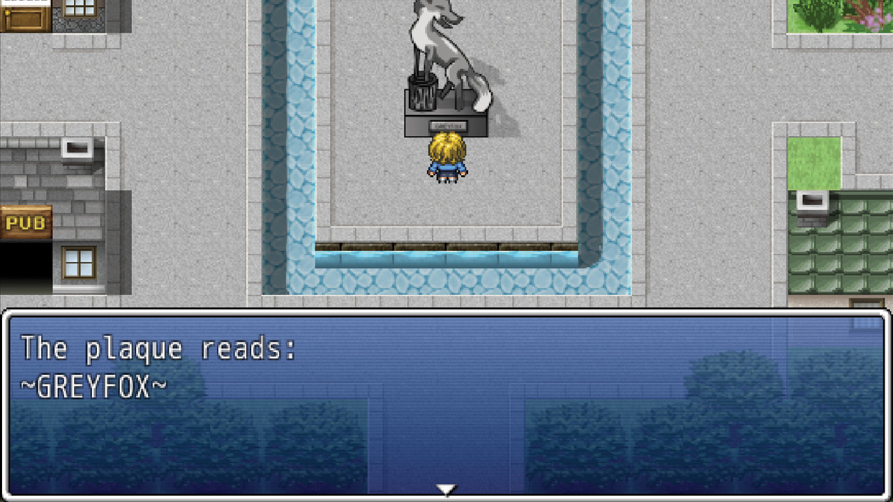 Greyfox RPG screenshot