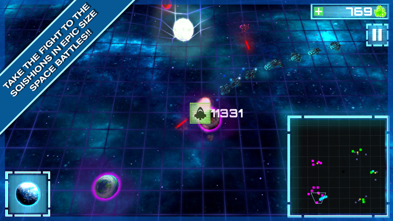 Relativity Wars - A Science Space RTS screenshot