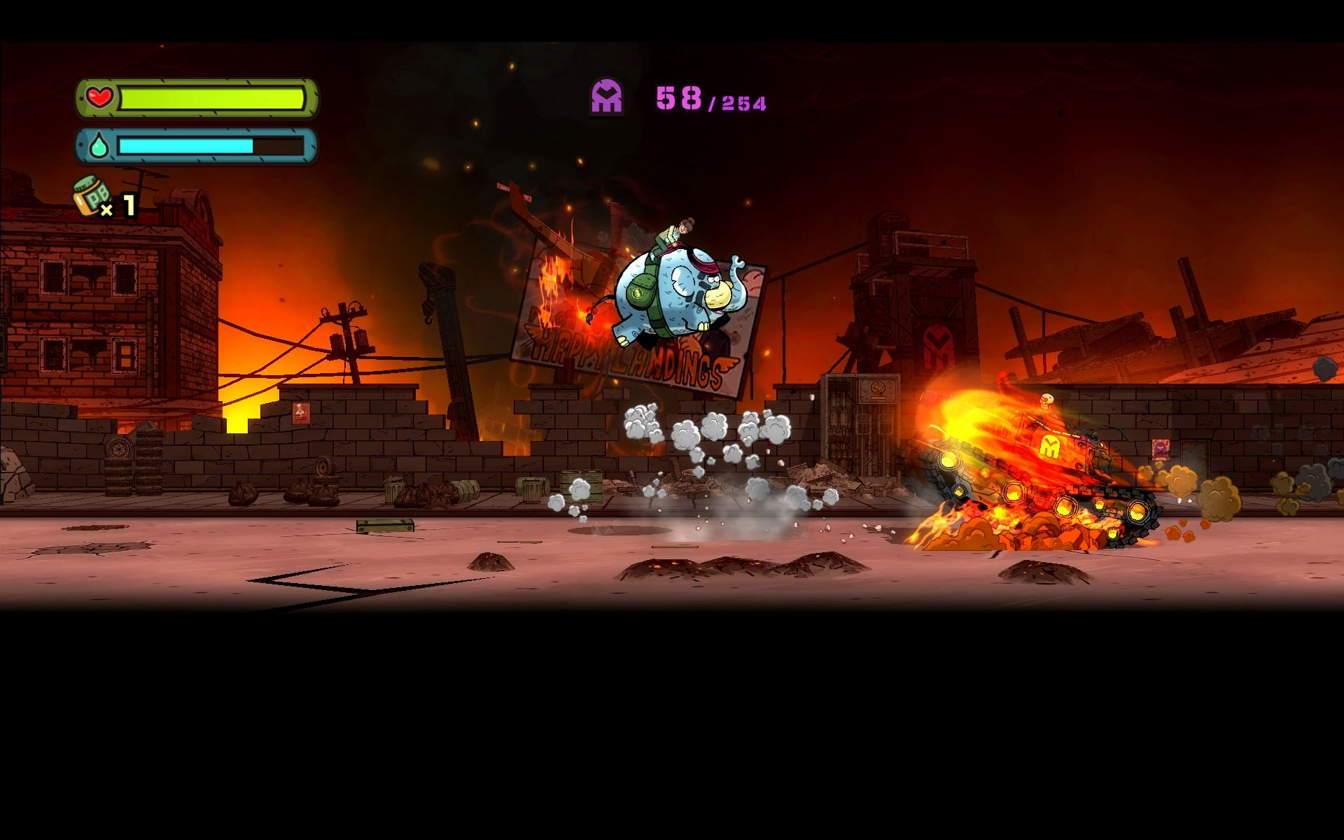 TEMBO THE BADASS ELEPHANT screenshot