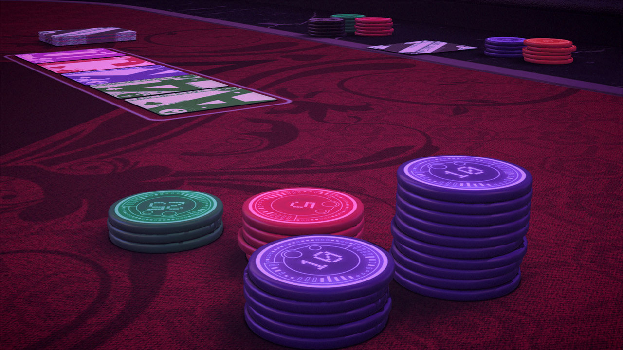 Pure Hold'em - Paradise City Chipset screenshot