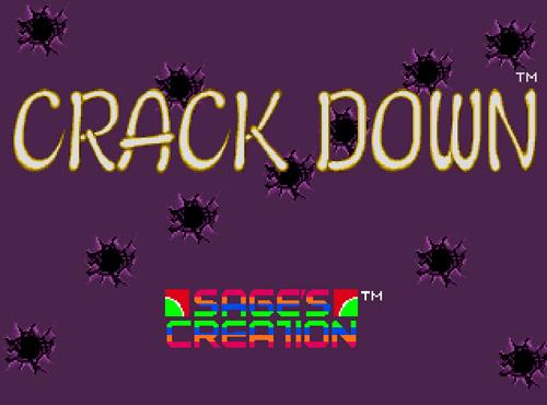 Crack Down screenshot