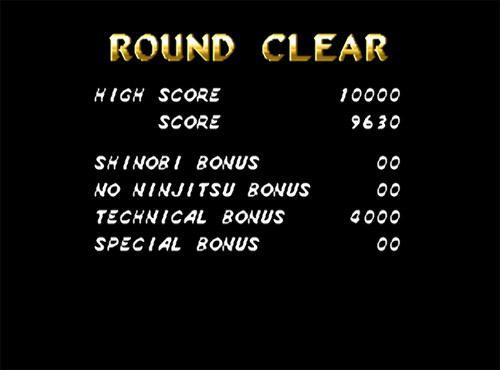 Shinobi III: Return of the Ninja Master screenshot