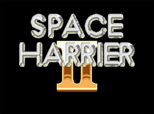 Space Harrier II screenshot