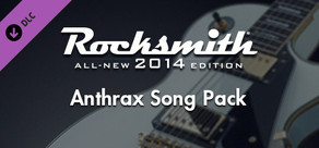 Rocksmith® 2014 – Anthrax Song Pack