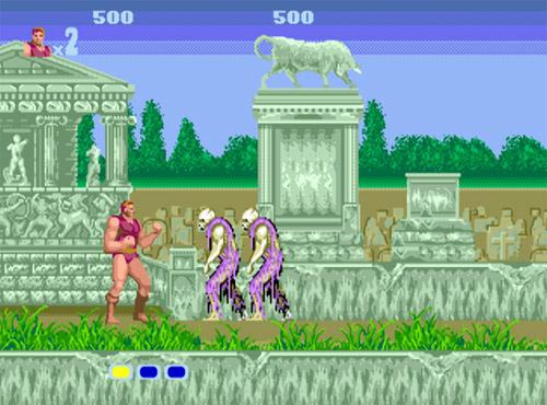 Altered Beast screenshot