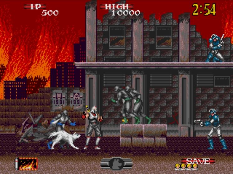 Shadow Dancer screenshot