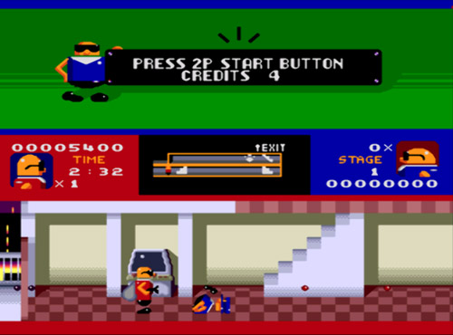 Bonanza Bros. screenshot
