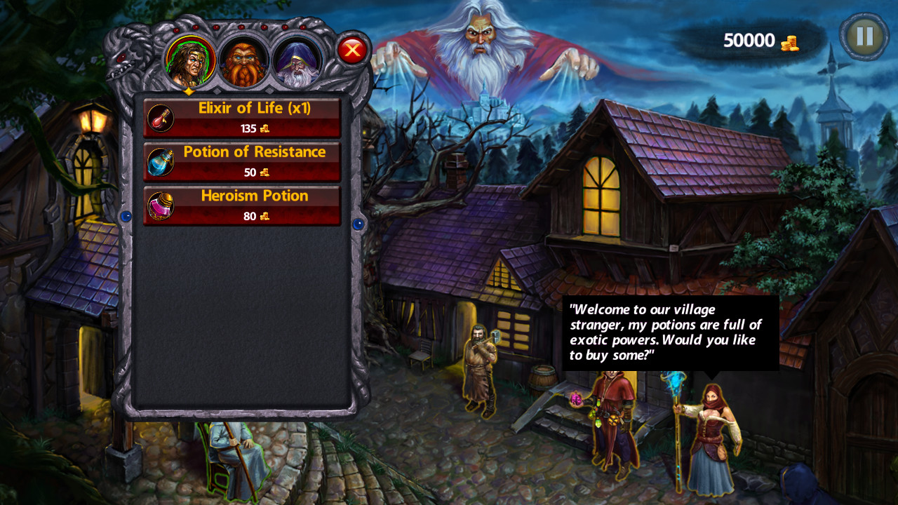 Dark Quest screenshot