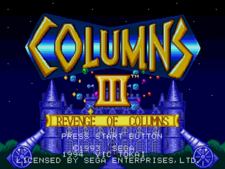 Columns III screenshot
