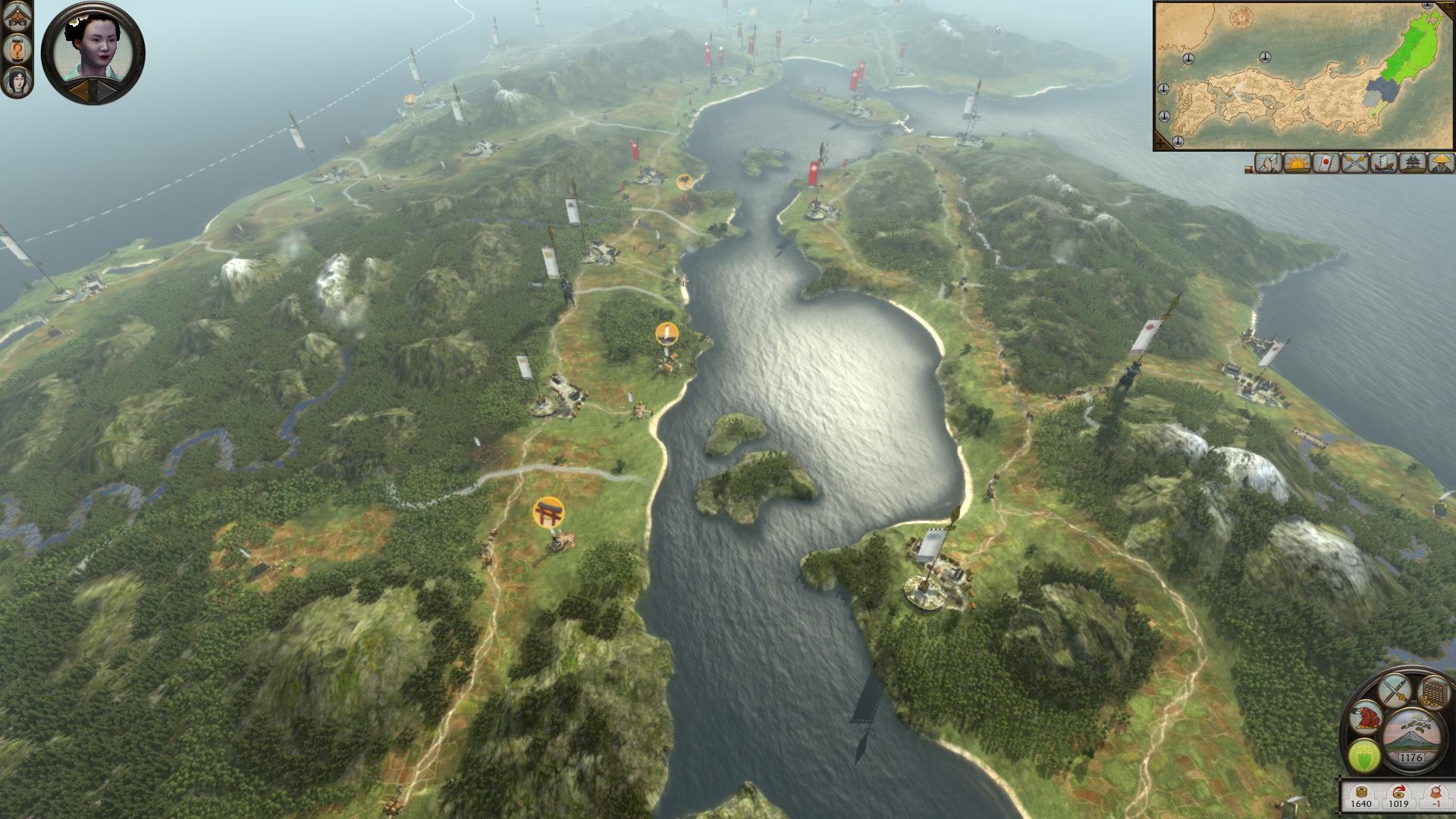 Total War: SHOGUN 2 - Rise of the Samurai Campaign screenshot