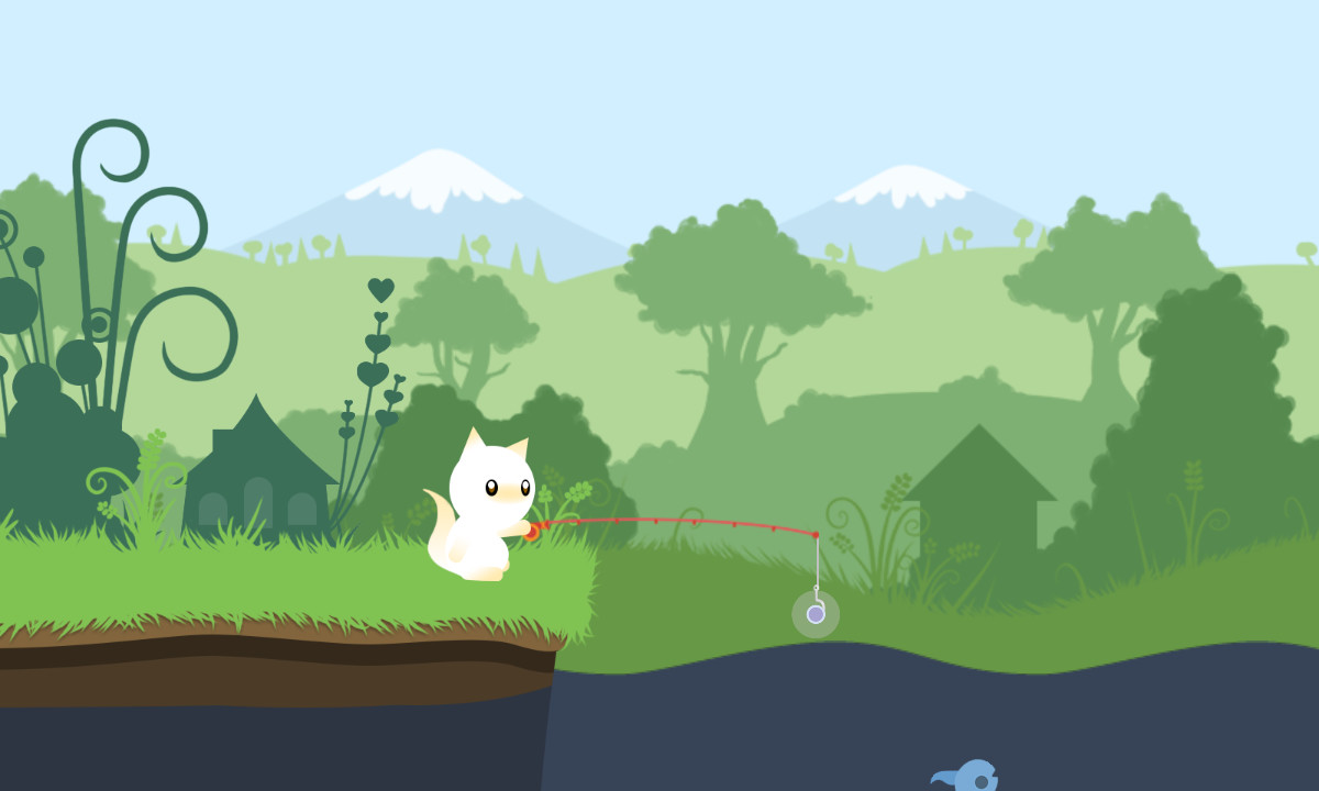 Download cat goes fishing full pc game for Fish cat game