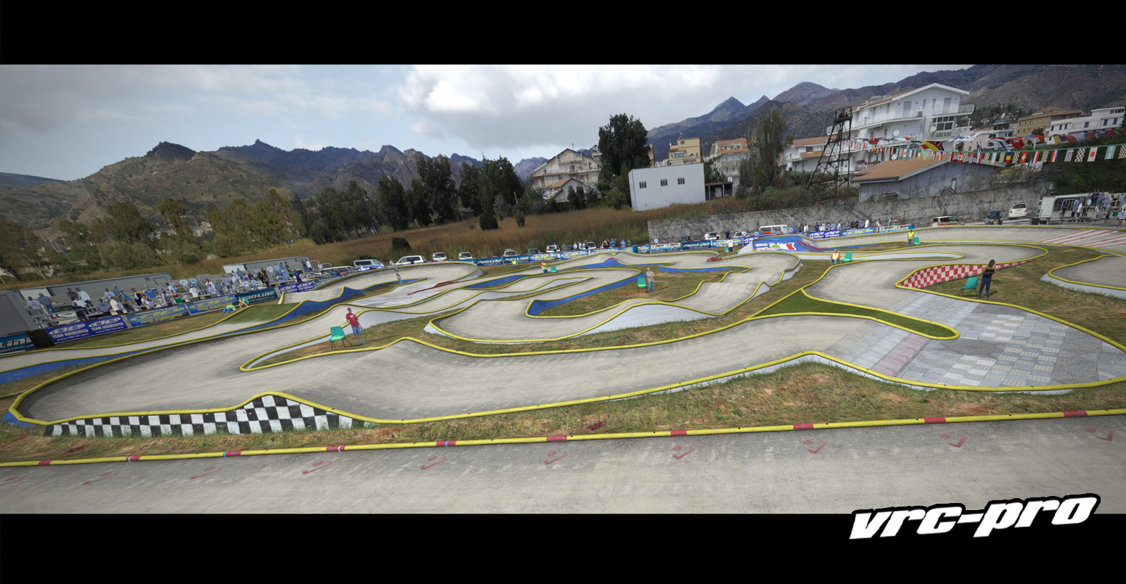 VRC PRO Deluxe Off-road tracks screenshot